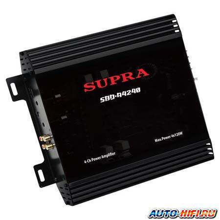4-канальный усилитель Supra