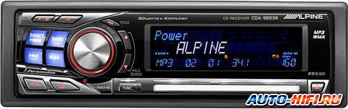Автомагнитола Alpine CDA-9853R