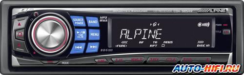 Автомагнитола Alpine CDA-9854R