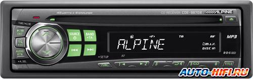 Автомагнитола Alpine CDE-9870R
