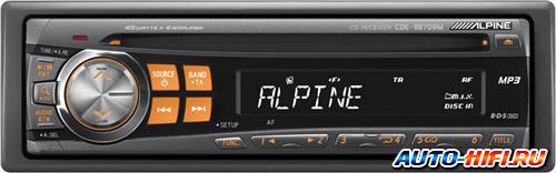Автомагнитола Alpine CDE-9870RM