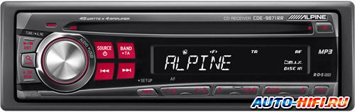 Автомагнитола Alpine CDE-9871RR