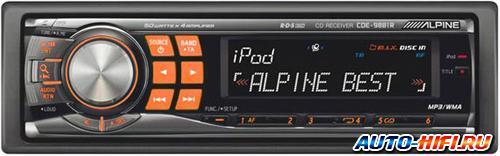Автомагнитола Alpine CDE-9881R