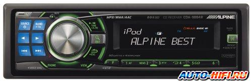 Автомагнитола Alpine CDA-9884R