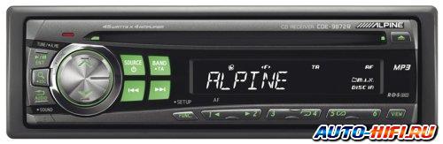 Автомагнитола Alpine CDE-9872R