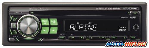 Автомагнитола Alpine CDE-9874R