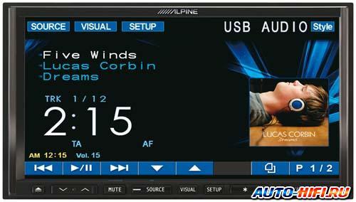 Автомагнитола Alpine IVA-W520R