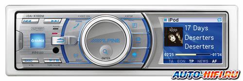 Морская магнитола Alpine iDA-X100M