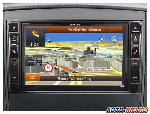 Автомагнитола Alpine X800D-V447