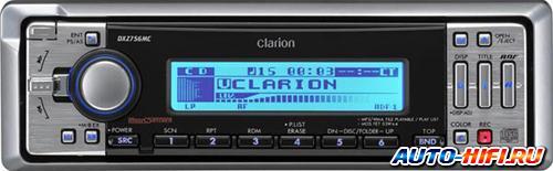 Автомагнитола Clarion DXZ756MC
