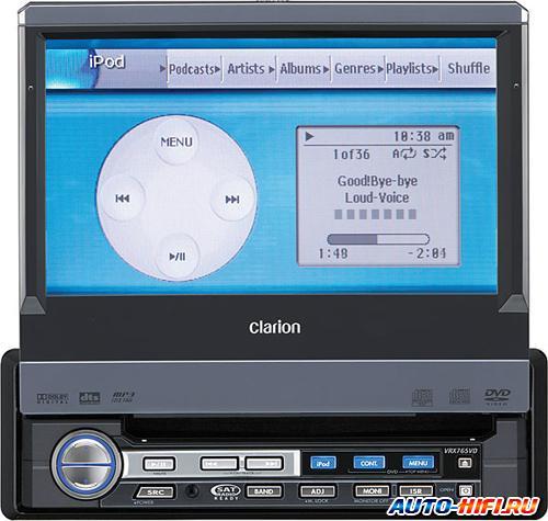 Автомагнитола Clarion VRX765VD