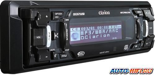 Автомагнитола Clarion DXZ675USB