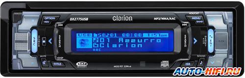 Автомагнитола Clarion DXZ775USB