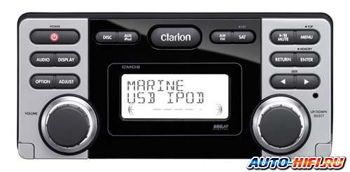 Морская магнитола Clarion CMD6
