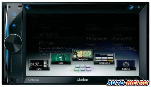 Автомагнитола Clarion NX502E