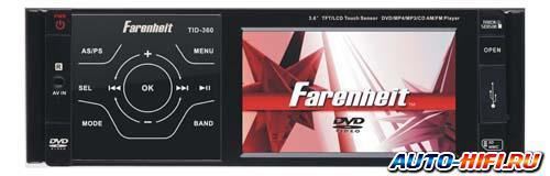 Автомагнитола Farenheit TID-360