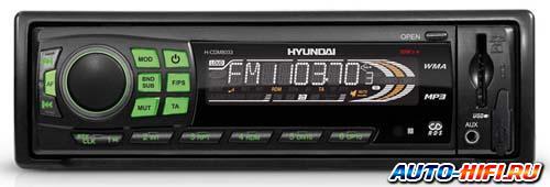 Автомагнитола Hyundai H-CDM8033 Green