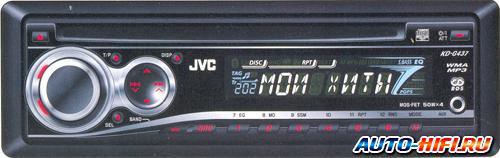 Автомагнитола JVC KD-G437EE