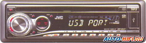 Автомагнитола JVC KD-G631