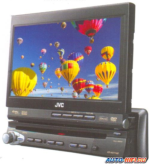 Автомагнитола JVC KD-AV7100