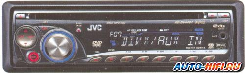 Автомагнитола JVC KD-DV4407EE
