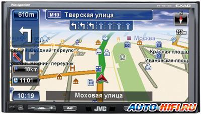 Автомагнитола JVC KW-NX7000EE