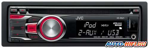 Автомагнитола JVC KD-R521