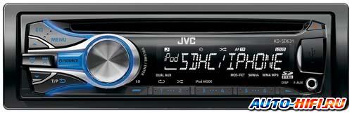 Автомагнитола JVC KD-SD631E