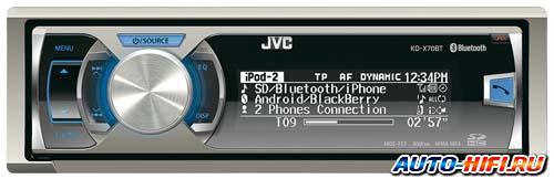 Автомагнитола JVC KD-X70BT