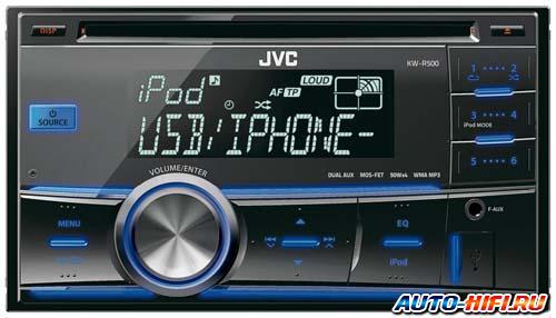 Автомагнитола JVC KW-R500
