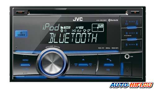 Автомагнитола JVC KW-R600BT