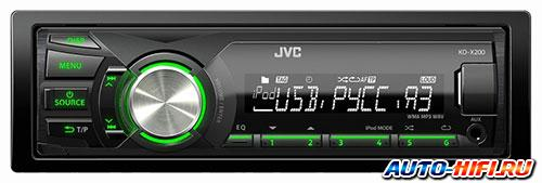 Автомагнитола JVC KD-X200EE