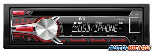 Автомагнитола JVC KD-R651E