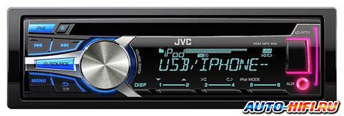 Автомагнитола JVC KD-R751E