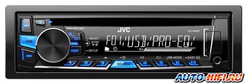 Автомагнитола JVC KD-R462E