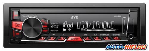 Автомагнитола JVC KD-X220E