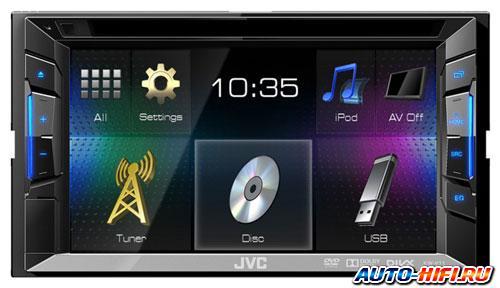 USB-Автомагнитола JVC KW-X730 - фото 7