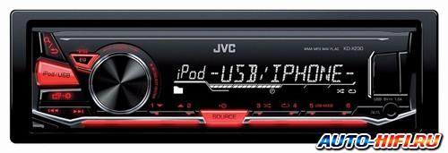 Автомагнитола JVC KD-X230E