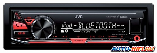 Автомагнитола JVC KD-X330BTE