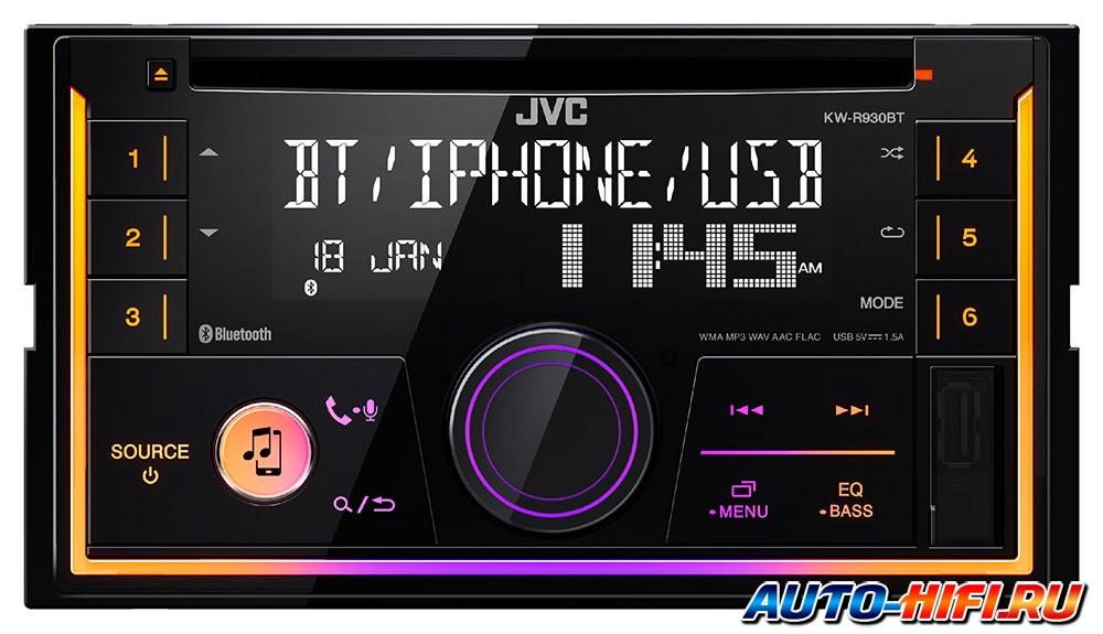 USB-Автомагнитола JVC KW-X730 - фото 4