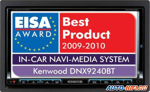 Автомагнитола Kenwood DNX9240BT