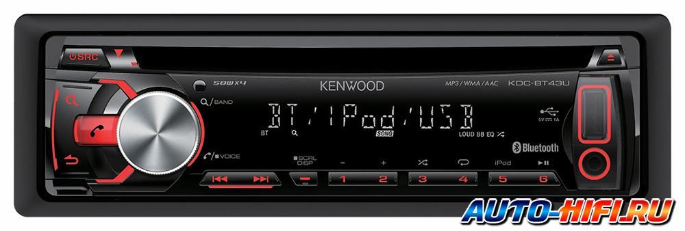 Kenwood kdc-bt43u инструкция
