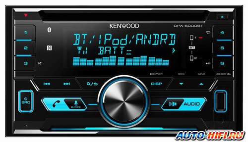 Автомагнитола Kenwood DPX-5000BT