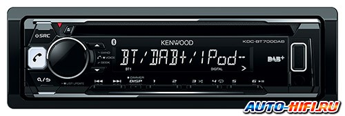 Автомагнитола Kenwood KDC-BT700DAB