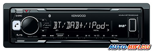 Автомагнитола Kenwood KMM-BT502DAB