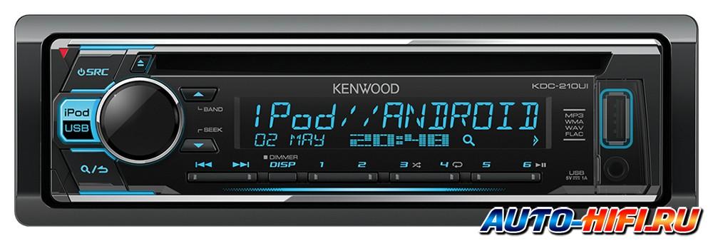 Автомагнитола kenwood kdc 210ui
