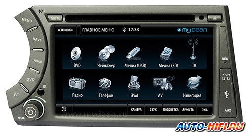 Автомагнитола MyDean 7203