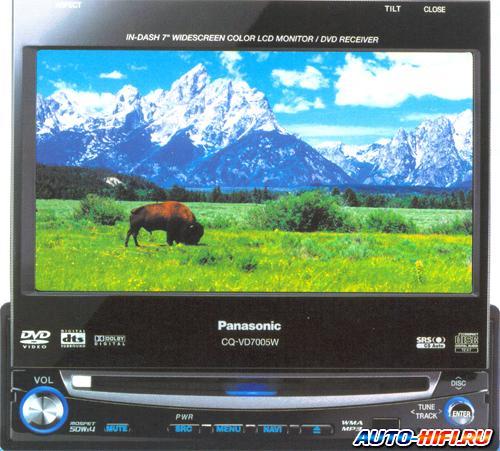 Автомагнитола Panasonic CQ-VD7005W5