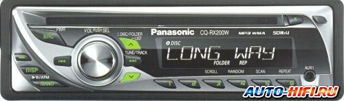 Автомагнитола Panasonic CQ-RX200W