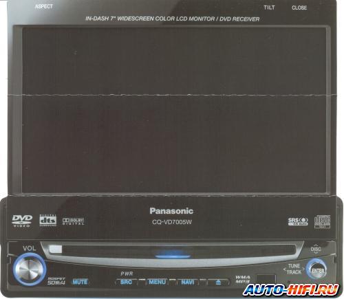 Автомагнитола Panasonic CQ-VD7005W